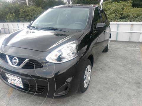 Nissan March Sense Aut usado (2019) color Negro precio $189,000