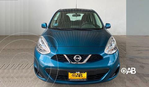 foto Nissan March Sense Aut usado (2016) color Azul Acero precio $138,000