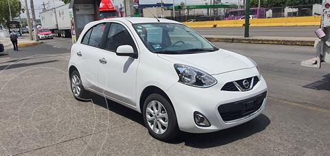 Nissan March Advance Aut usado (2020) color Blanco precio $220,000