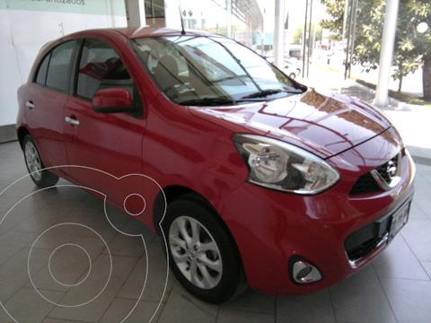 Nissan March Advance Aut usado (2016) color Rojo precio $152,000