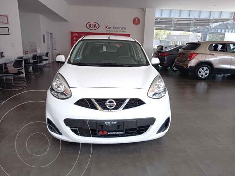 Nissan March Sense usado (2019) color Blanco precio $159,000