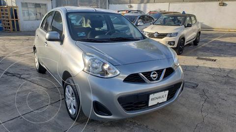 Nissan March Sense  Aut usado (2015) color Gris precio $130,000