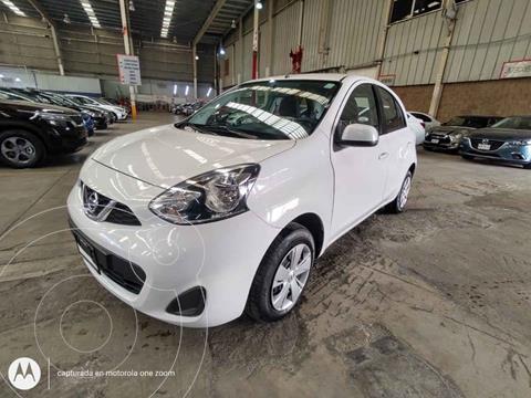 Nissan March Sense usado (2018) color Blanco precio $145,000