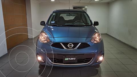 Nissan March SR usado (2020) color Turquesa precio $249,000