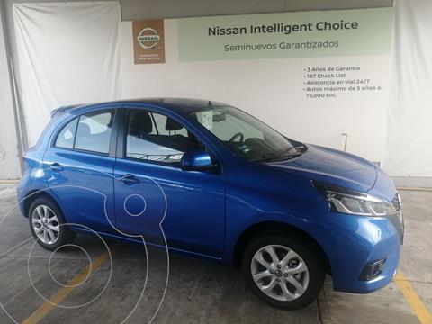 Nissan March Advance usado (2021) color Azul precio $265,000