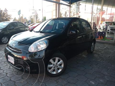 Nissan March Advance usado (2013) color Negro precio $110,000