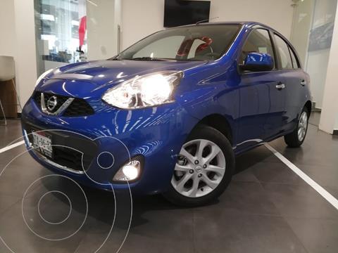 Nissan March Advance usado (2020) color Azul Claro precio $225,000