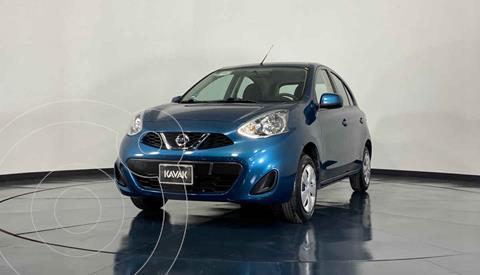 Nissan March Sense usado (2017) color Azul precio $152,999