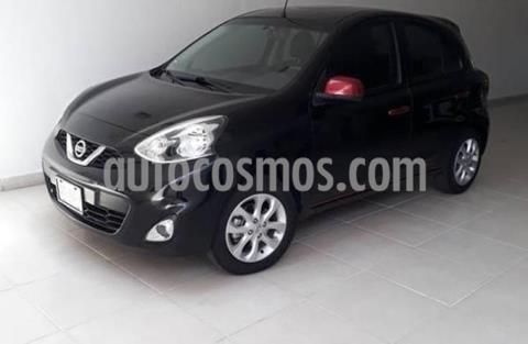 Nissan March 5P HB ADVANCE Y DUO AT A/AC. VE BA ABS CD RA-15 usado (2018) color Negro precio $155,000