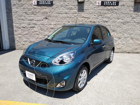 Nissan March Advance Aut usado (2020) color Azul precio $230,000
