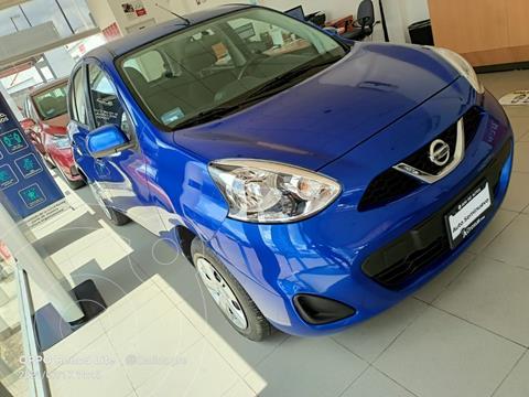 Nissan March Sense usado (2020) color Azul Acero precio $185,000