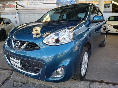 Nissan March Advance usado (2019) color Azul precio $195,000