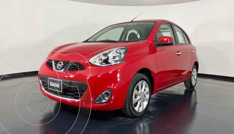 foto Nissan March Advance NAVI Aut usado (2017) color Rojo precio $167,999