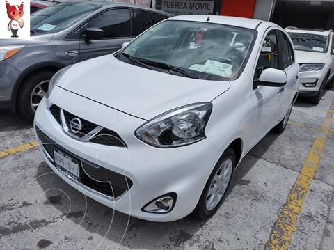 Nissan March Advance usado (2020) color Blanco precio $220,000