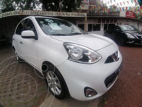 Nissan March Advance NAVI Aut usado (2015) color Blanco precio $149,000