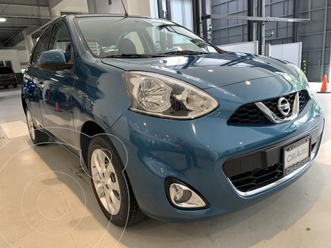 Nissan March Advance NAVI usado (2017) color Turquesa precio $169,000