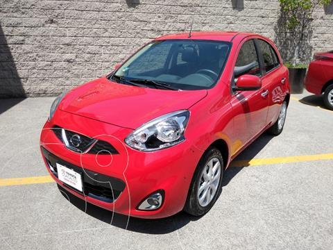 Nissan March Advance usado (2020) color Rojo precio $214,000