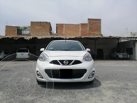 Nissan March Advance usado (2014) color Blanco precio $115,000