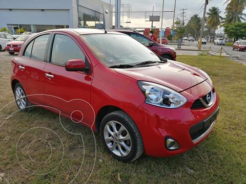 Nissan March 5P ADVANCE L4/1.6 AUT usado (2017) color Rojo precio $140,000