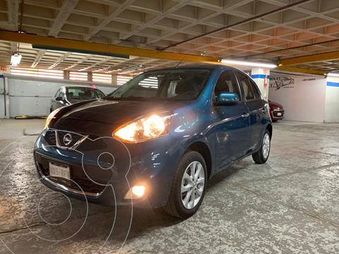 Nissan March Advance usado (2020) color Azul precio $199,000
