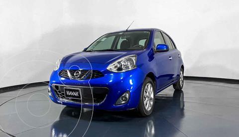 Nissan March Advance Aut usado (2016) color Azul precio $157,999