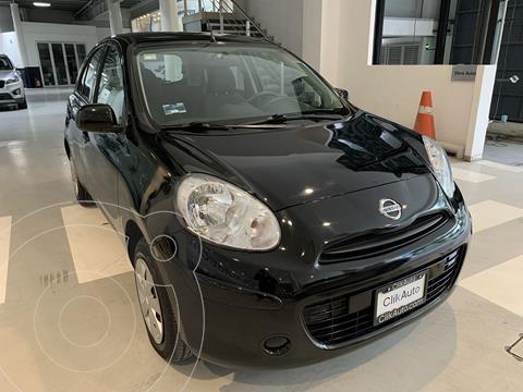 Nissan March Sense  Aut usado (2013) color Negro precio $126,000