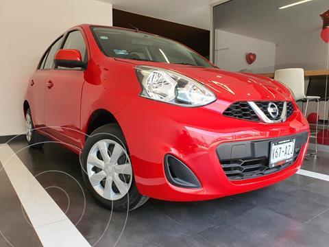 Nissan March Sense usado (2018) color Rojo precio $165,800