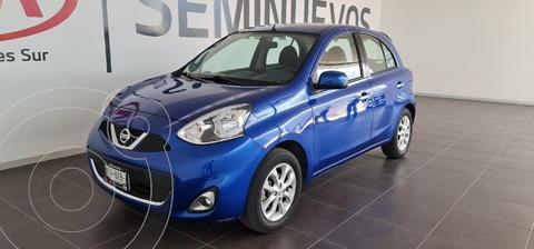 Nissan March Advance usado (2017) color Azul precio $138,000