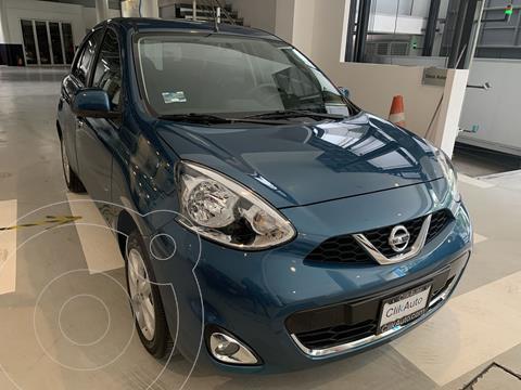 Nissan March Advance usado (2020) color Azul precio $225,000