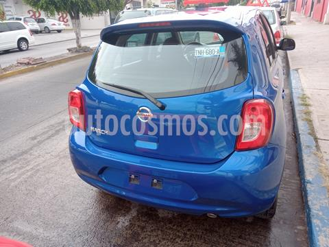 Nissan March Advance Duo Aut usado (2019) color Azul Electrico precio $150,000