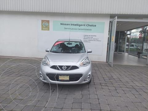 Nissan March Advance usado (2020) color Plata Dorado precio $237,500