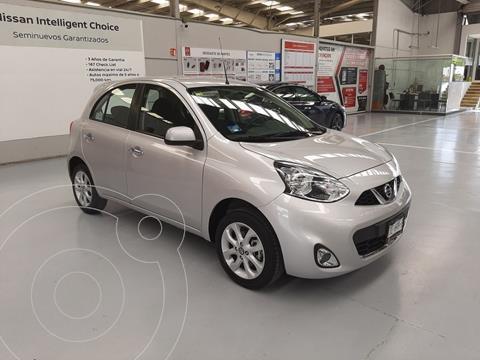 Nissan March Advance usado (2020) color Plata Dorado precio $209,000