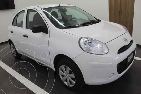 Nissan March Active Aire Ac usado (2020) color Blanco precio $189,000