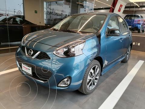 Nissan March SR NAVI usado (2020) color Azul precio $249,000