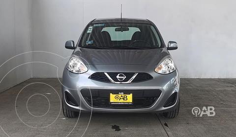 Nissan March Sense usado (2016) color Gris Oscuro precio $130,000