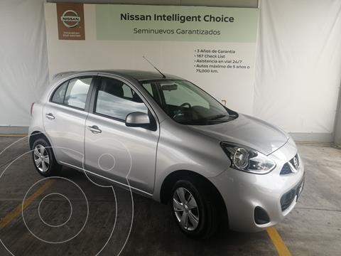 Nissan March Sense  Aut usado (2020) color Plata Dorado precio $215,000