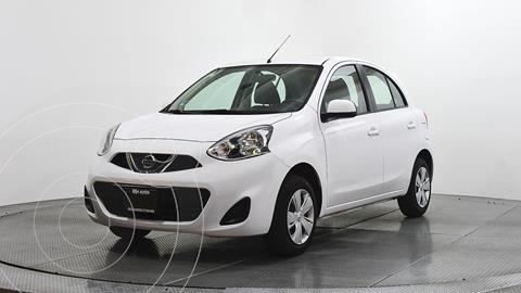 Nissan March Sense usado (2018) color Blanco precio $144,000