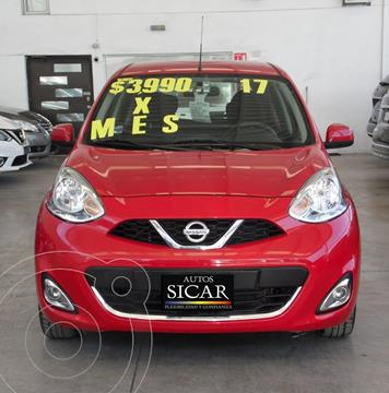 Nissan March Advance Aut usado (2017) color Rojo precio $157,000