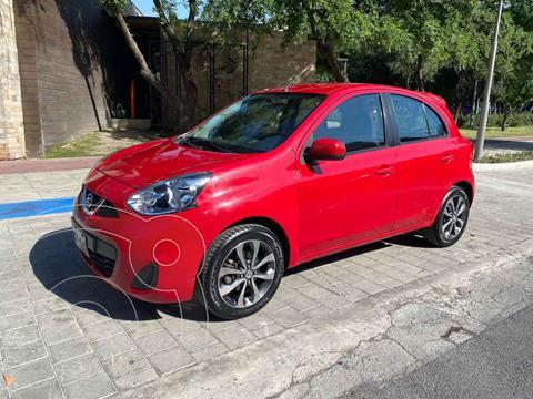 Nissan March Sense usado (2016) color Rojo precio $169,900