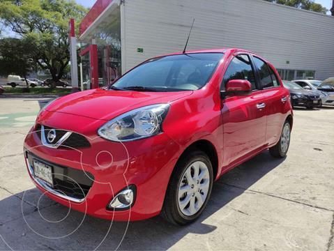 Nissan March Advance usado (2019) color Rojo precio $199,000