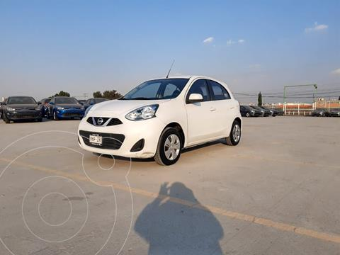 Nissan March Sense usado (2015) color Blanco precio $118,000