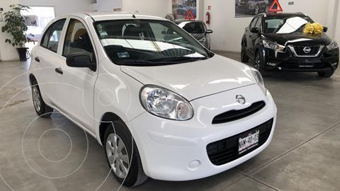 Nissan March Active usado (2018) color Blanco precio $129,000
