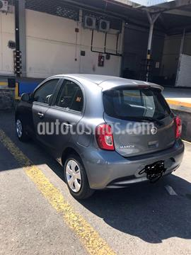 Nissan March Sense usado (2018) color Gris Oxford precio $135,000