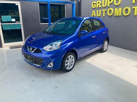 Nissan March Advance usado (2018) color Azul precio $162,000