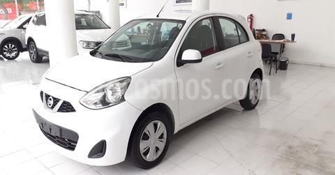 Nissan March Sense Aut usado (2018) color Blanco precio $129,900