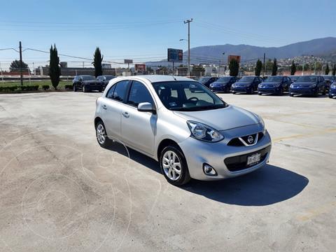 Nissan March Advance usado (2016) color Plata Dorado precio $148,900