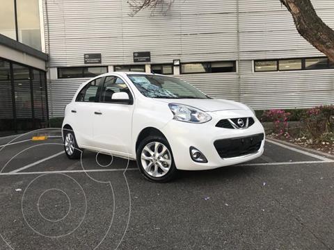 Nissan March Advance usado (2018) color Blanco precio $165,000