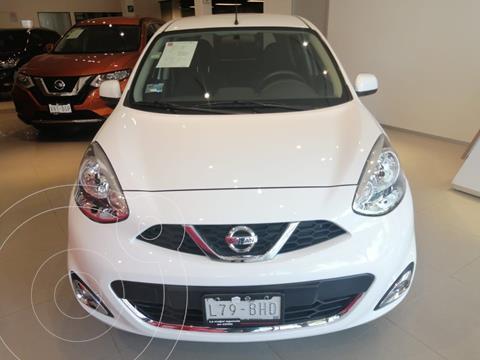 Nissan March Advance usado (2019) color Blanco precio $180,000