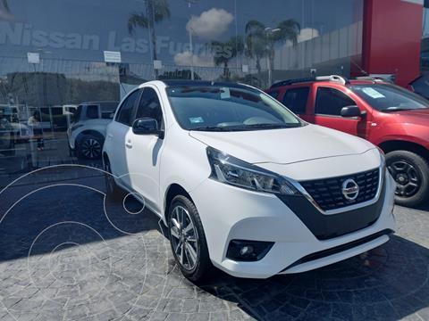 Nissan March Exclusive usado (2021) color Blanco precio $290,000