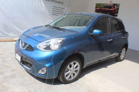 Nissan March Advance usado (2020) color Azul precio $212,000